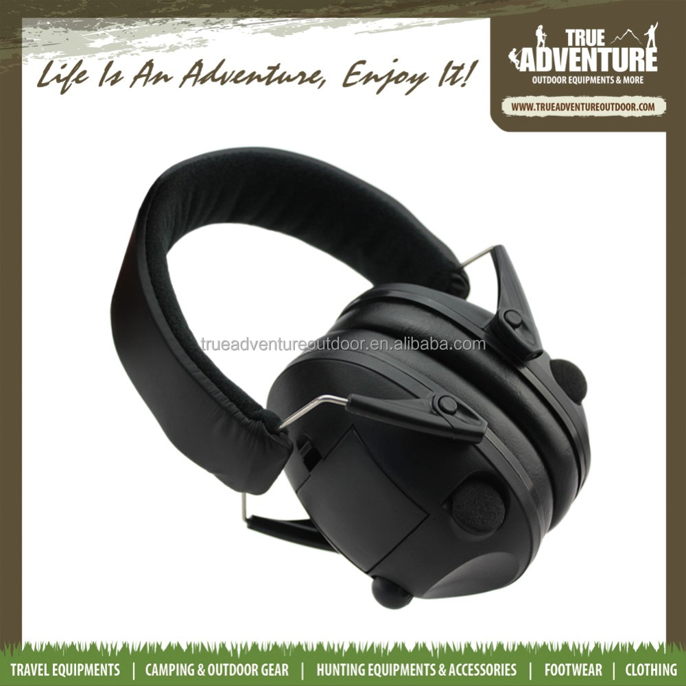 True Adventure 26 dB 30 dB Hunting shooting equipment Electronic earmuff sound proof ear muff