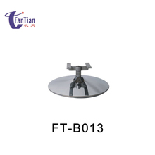 H shaped iron plating swivel strengthen chair base for sofa
