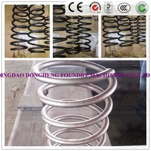 dust collect made in QIngdao Coiled Wire Shot Blasting Machine / Steel Wire Descaling Machine