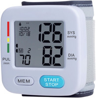 New health care product digital wrist watch blood pressure heart rate monitor