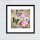 art card paper canvas painting new designs flowers of glass painting