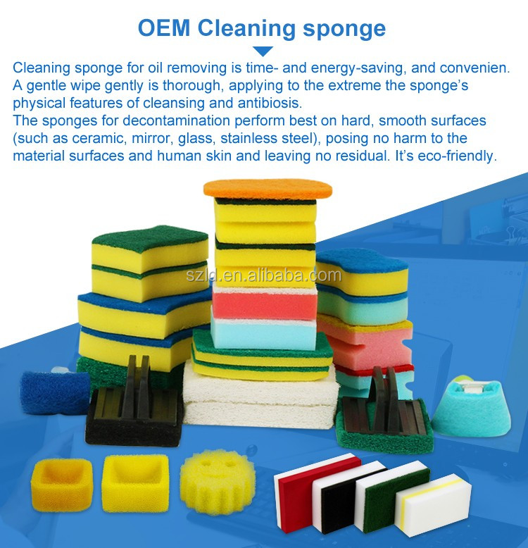 Colorful Deep Cleaning Whiteboard Eraser Sponge