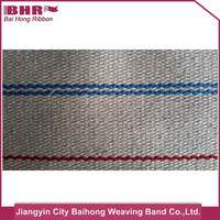 colored plain cotton canvas webbing in rolls