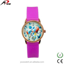 PSW watch factory cheap price carton kids watch wholesale silicone carton watch for child