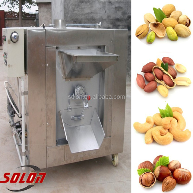 2016 High Quality Alibaba chestnut processing machine/groundnut/ roaster machine