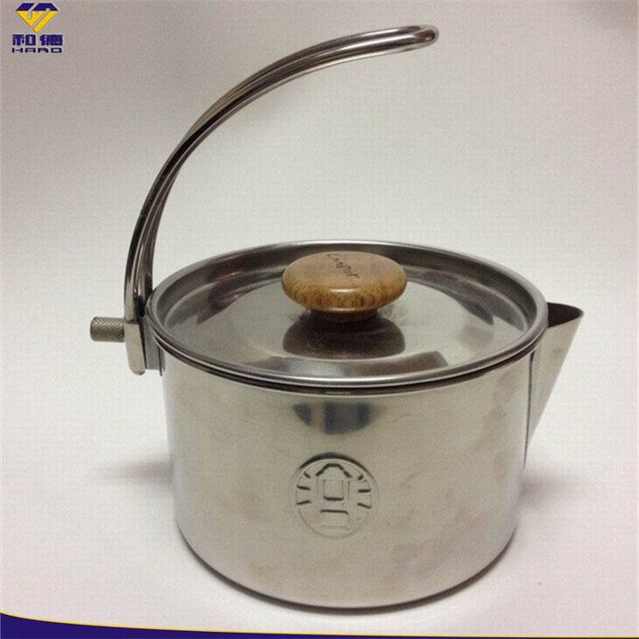 Large Capacity Commercial Kitchenware High Quality Polishing Heavy Duty Stainless Steel Cooking Pot