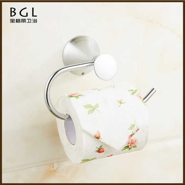Wholesale Modern No.51133 Wall Mounted Chrome Plated Toilet Tissue Roll Holder Toilet Roll Holder