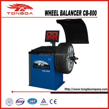 CB-800 Hiding indicator function with CE Wheel Balancer