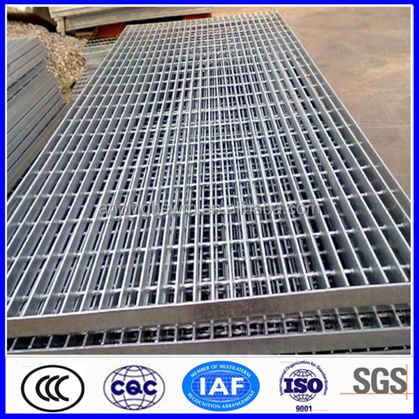hot dip galvanized grate bar grid floor metal walkway