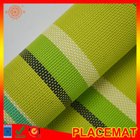 blind mesh fabric material pvc textile fabric laminated floor mat gym yoga floor mat table place mat