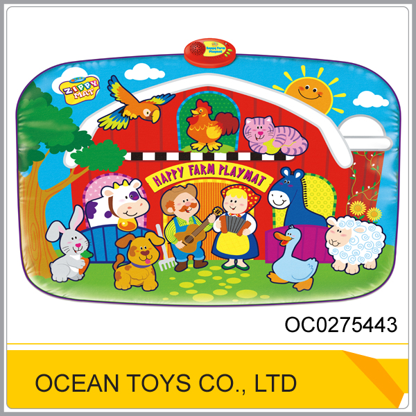 Educational electronic baby play mat gym OC0275443