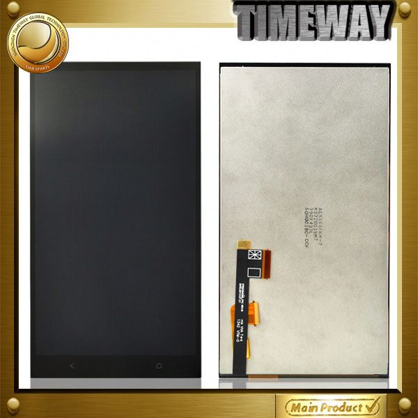 china wholesale lcd display+touch screen digitizer for htc one max