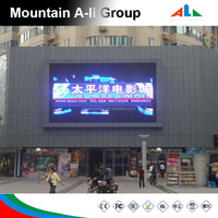 P16 Commercial LED Billboard LED Screen Display Board Outdoor Advertising