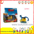 Plastic slipping mini excavator toy