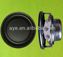 40mm 4ohm 4W singing table speaker