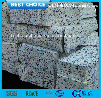 cheap waterproof recycle foam cushion