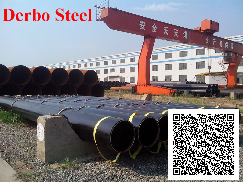 High Quality - ERW HFI , EFW Carbon Steel Welded Pipes A53 / API 5L GR.A, Gr. B, DIN 2458, EN10217