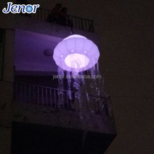 2017 LED Christmas Decor Inflatable Decorating Jellyfish Balloon