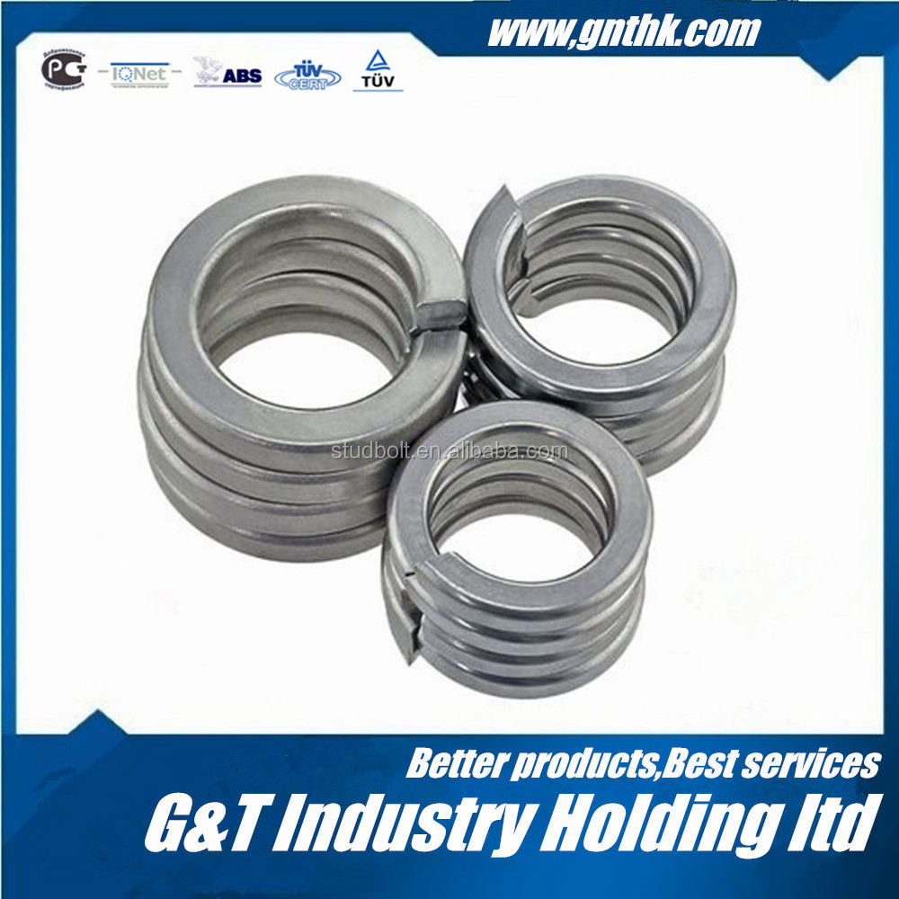 Supplier from China GT M4 M6 Carbon Steel With Zinc Spring Lock Washer
