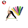 Wholesale latex 5 levels rubber Yoga loop resistance band, stretch loop bands