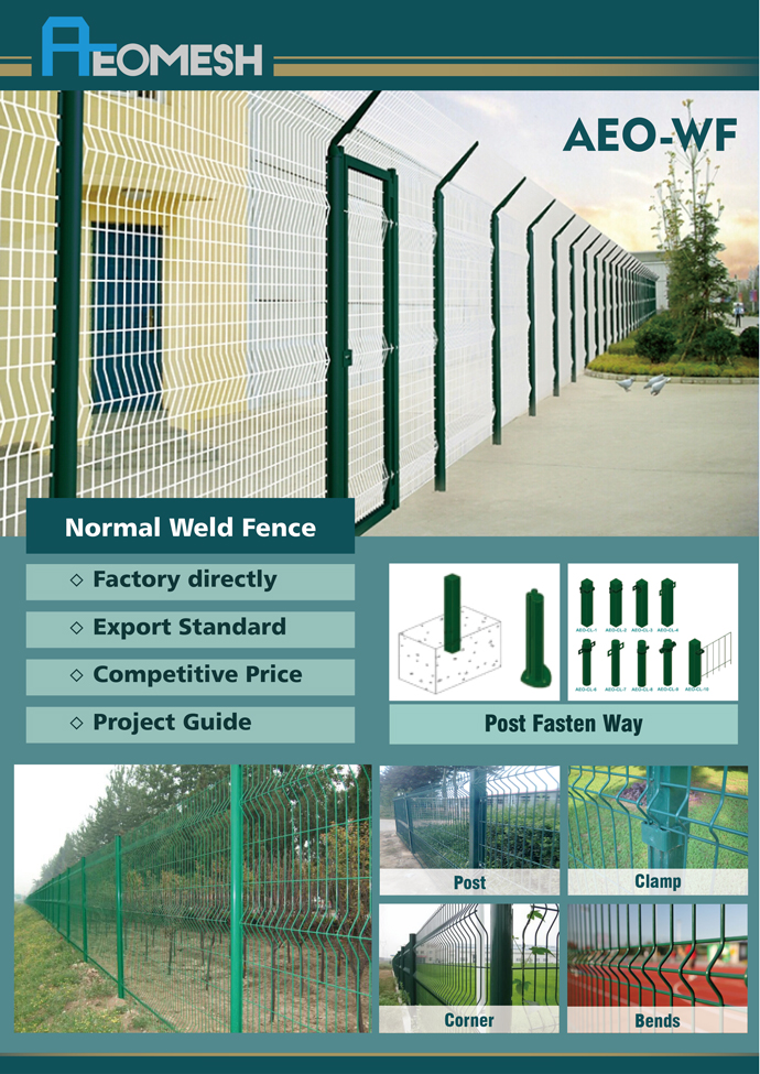 Welded Mesh Fence Steel Y Post Insulators Accessories And Twin wire Fence Accessories