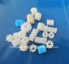 Wholesale of tiny spur plastic gears and worm spurs for electric motor