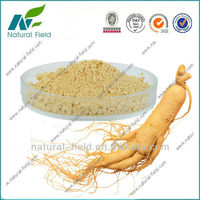 100% soluble in water panax ginseng extract ginsenoside powder for hair