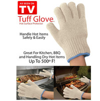 Free shipping 80pairs=160pcs/lot As seen on TV Hot Surface Protector Deluxe Handler 2-Pack New Ultra Thick Amazing Tuff Glove
