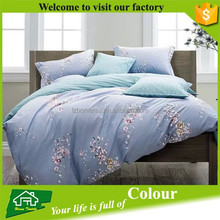 High Thread Count Colorful 100% Cotton Bedding Duvet Cover Set