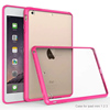 Acrylic high clear pc and tpu combo case for iPad mini 4