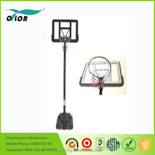 Durable quick adjustmen 10' portable basketball stand for outdoor practicing