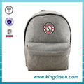 2017 New product fashion student bag leisure felt backpack