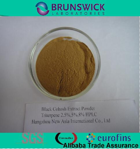 Pure black cohosh 2.5% Triterpene Glycosides HPLC