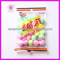 China Manufacturer 2013 New Hottest Selling Moth flakes / Camphor Color Balls 120g