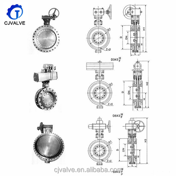 Top Pneumatic 1 inch Wafer Type Butterfly Valve made in China for USA market