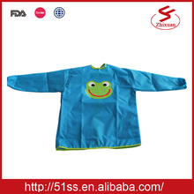 Wholesale Chinese production children plastic smock