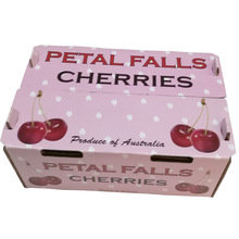 Custom Design Fruit Packaging Box For Cheery And Strawberry