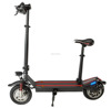 2 wheels adult portable foldable electric scooter with LED