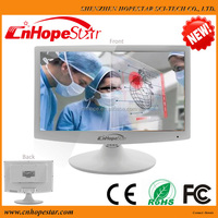 15 17 inch white color APPL Design computer tv monitor / led monitor