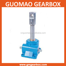 SWL series mechanical worm gear&shaft acme screw selflocking adjustable scaffolding u head jack
