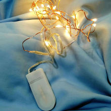 20L Micro CR2032 battery operated Christmas decorative <strong>LED</strong> copper wire fairy string lights