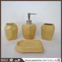 china ceramic bathroom accessory set