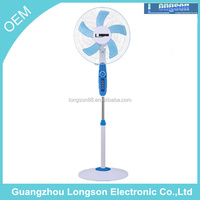 hot selling 16 inch strong stand fan / Electric stand fan spare parts manufacturer