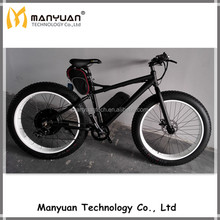 48v 11.6ah 1000w rear motor beach cruiser electric bicycle