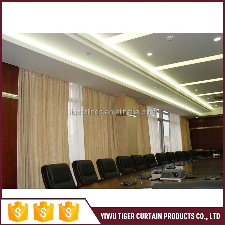 Most popular excellent quality automatic sliding good offer curtains