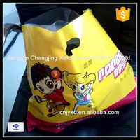 fashion foldable packaging box plastic shopping bag