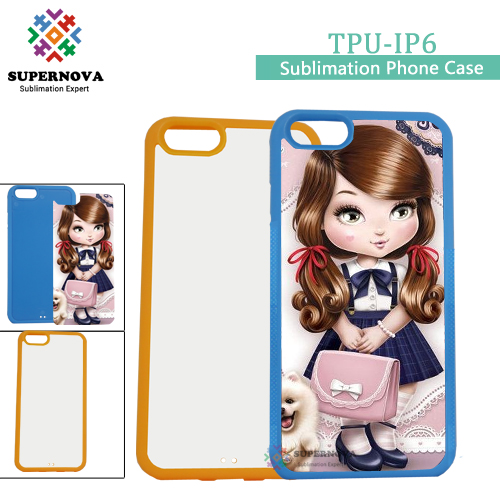 Hot Products 2D Sublimation Mobile Phone Case, DIY Mobile Phone Case for IPhone 6/6S