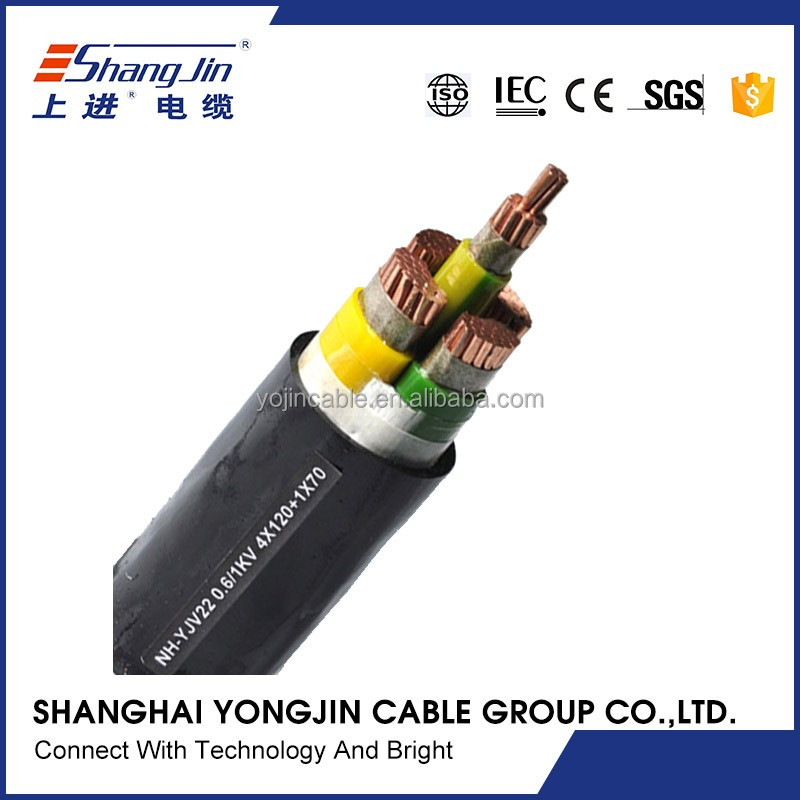 10mm2 power cable IEC 502 standard with 5 cores