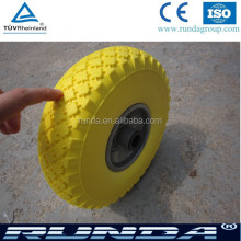 solid pu foam wheel,pu solid wheel barrow tire