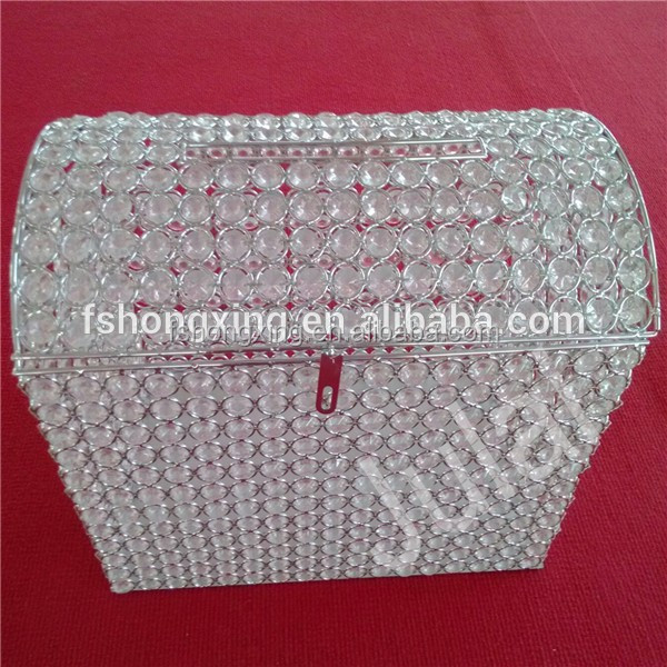 MB-r Big crystal Money saving Box For Wedding and big event